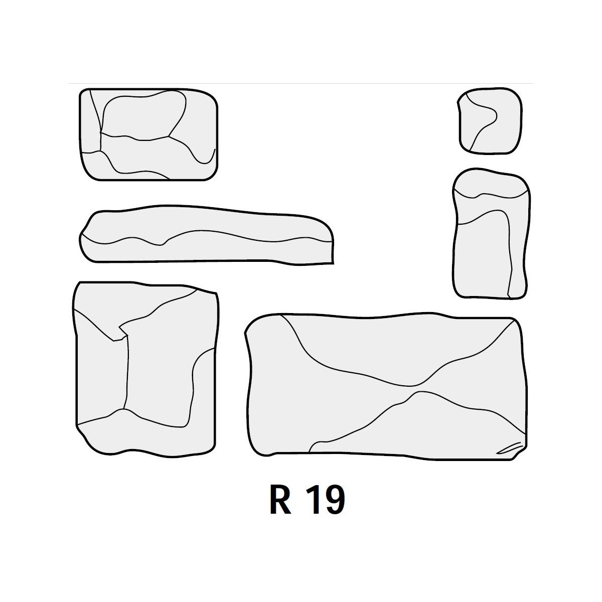 Revesti-Mur Plaqueta R19 Zurich (Caja 1m2)