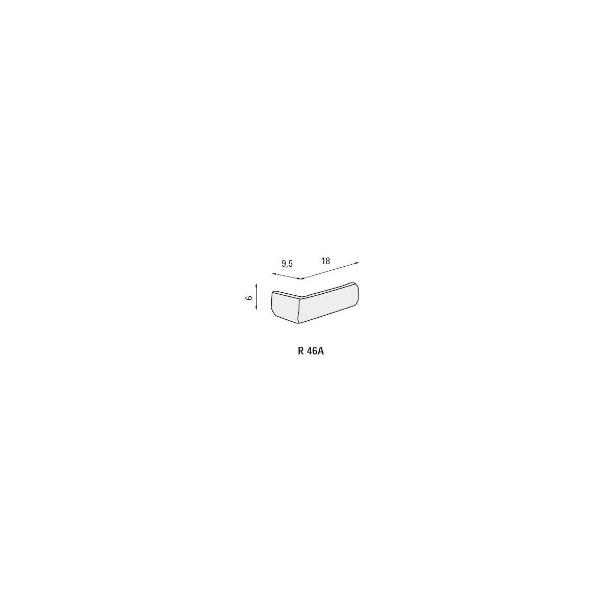 Revesti-Mur Plaqueta ángulo R46 Londres (Caja 1.6ml)