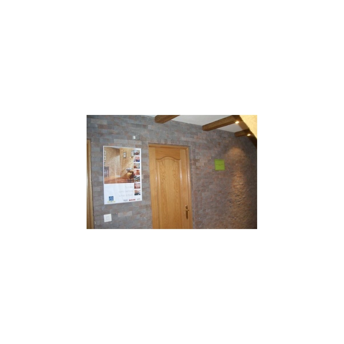 Plaqueta ángulo R51 Viena (Caja 1.6ml) - Revestimiento con Plaquetas de yeso - Marca Revesti-Mur