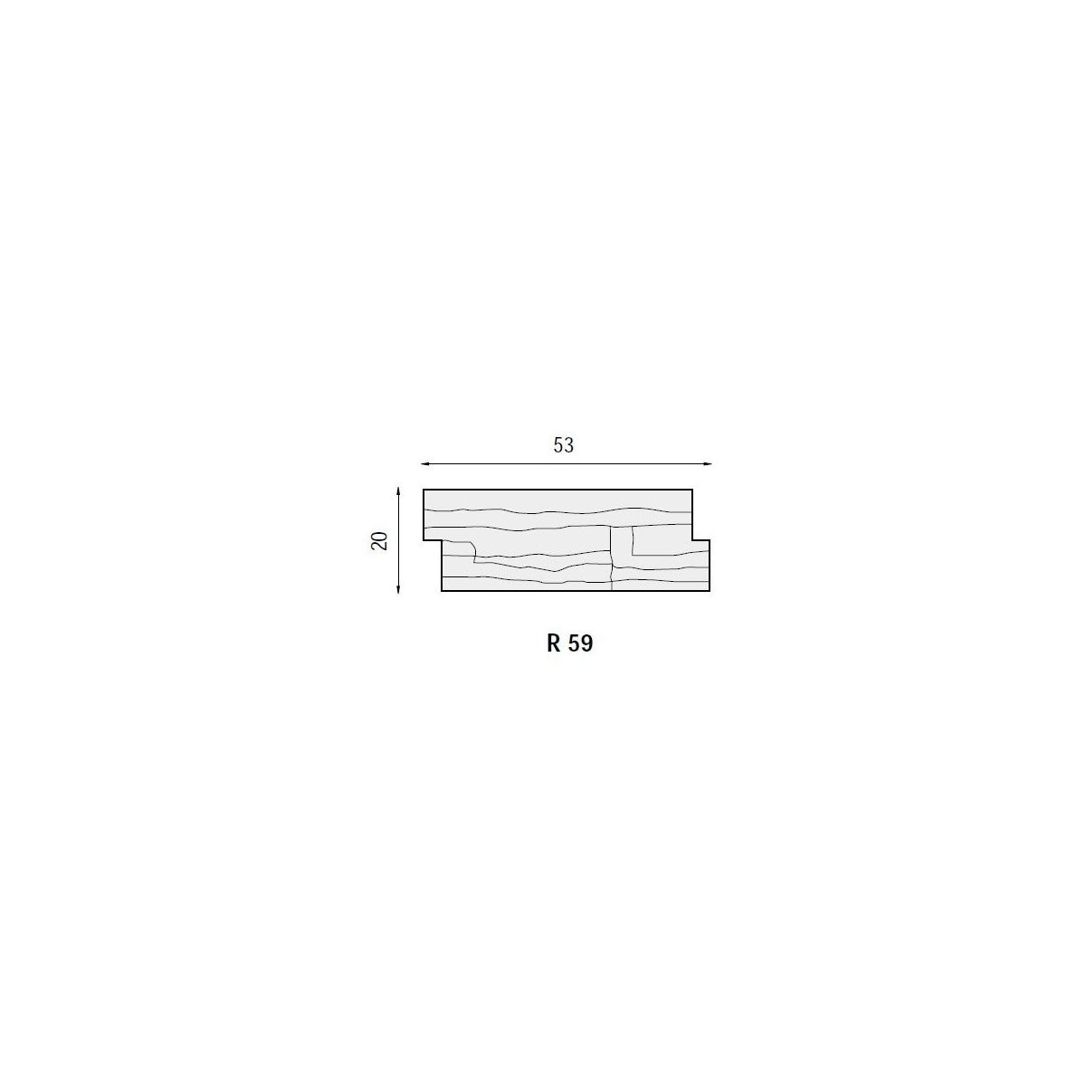 Plaqueta R59 Chicago (Caja 1m2) Revesti-Mur