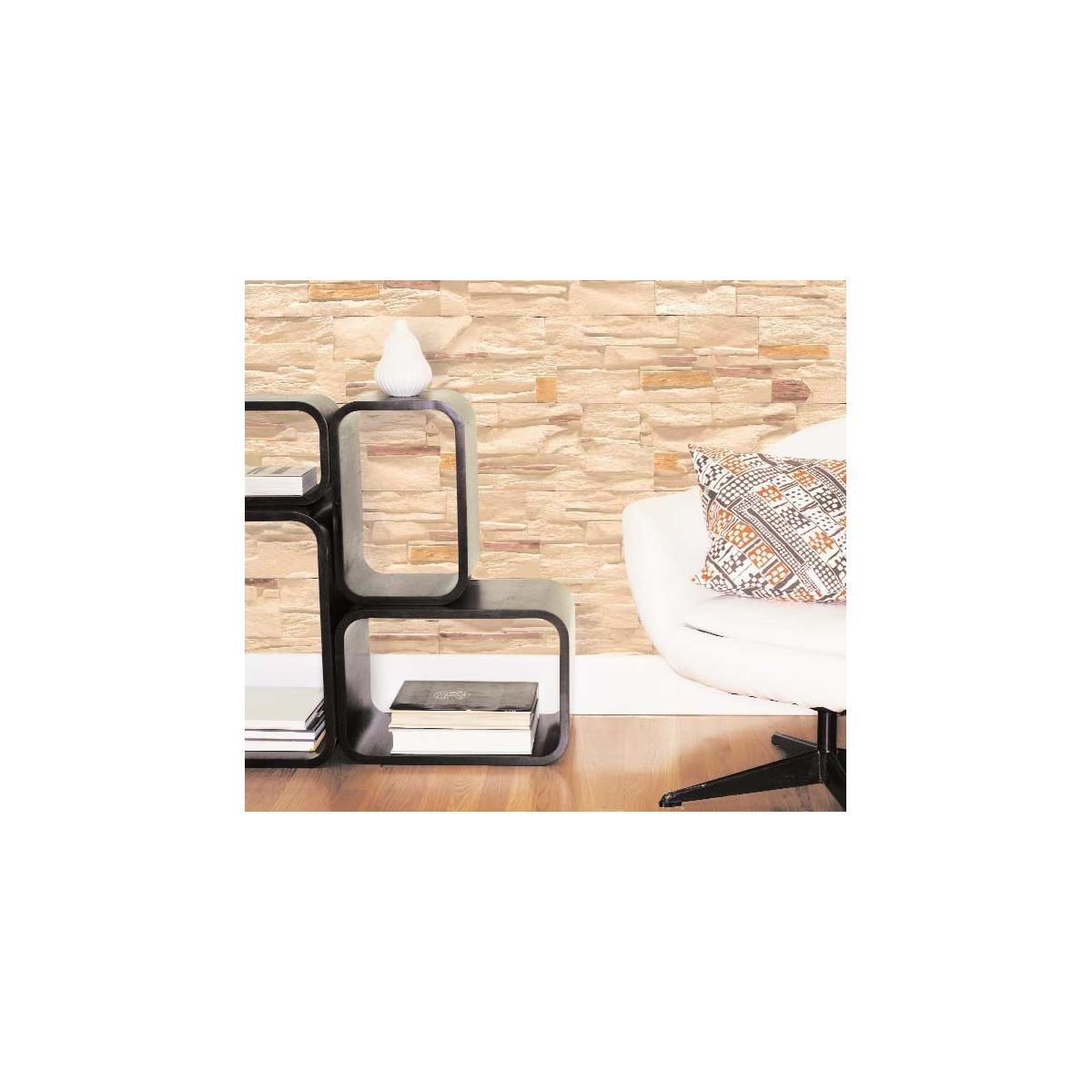Plaqueta ángulo R59 Chicago (Caja 1 ml) - Revestimiento con Plaquetas de yeso - Marca Revesti-Mur