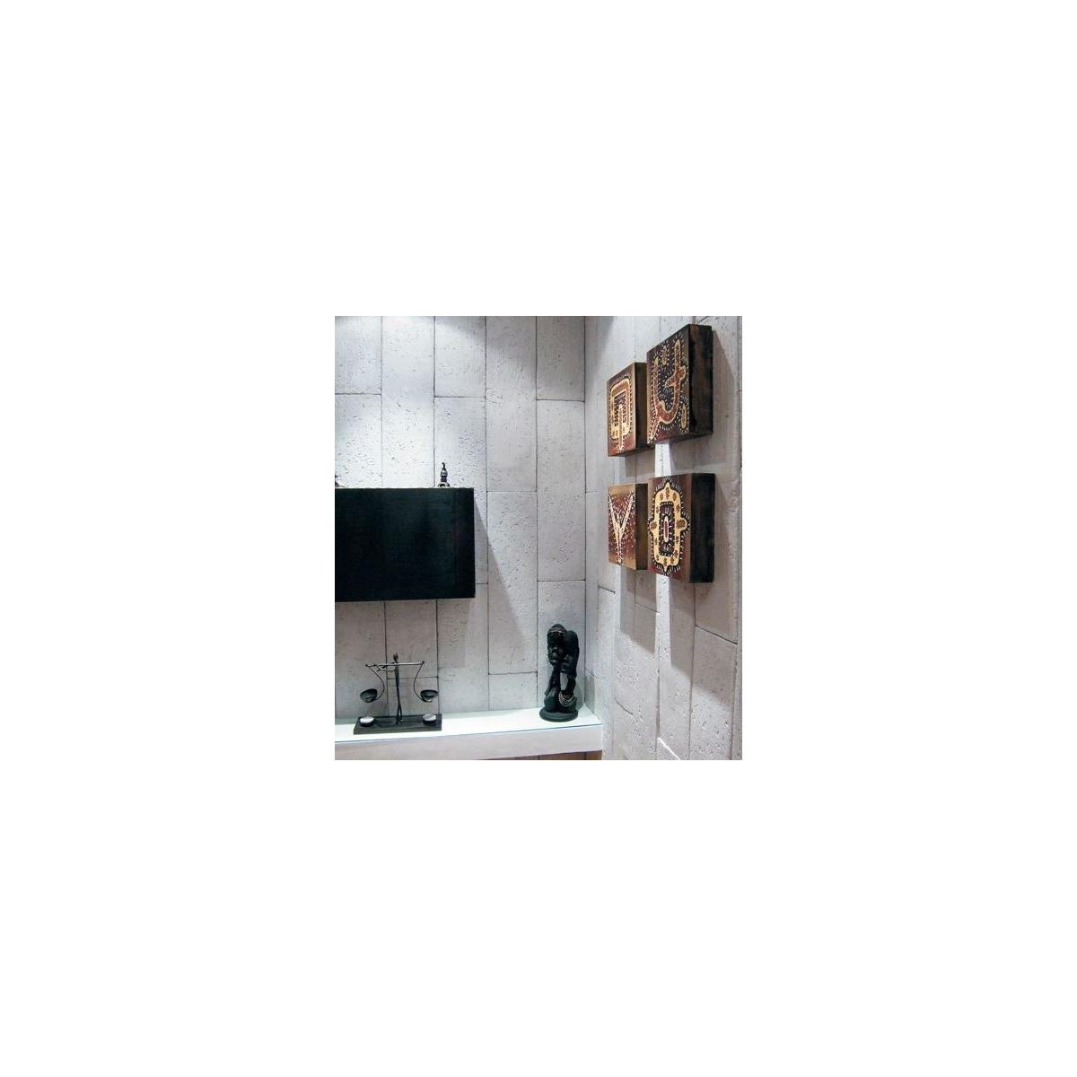 Plaqueta R61 Nueva York (Caja 1,1m2) - Revestimiento con Plaquetas de yeso - Marca Revesti-Mur