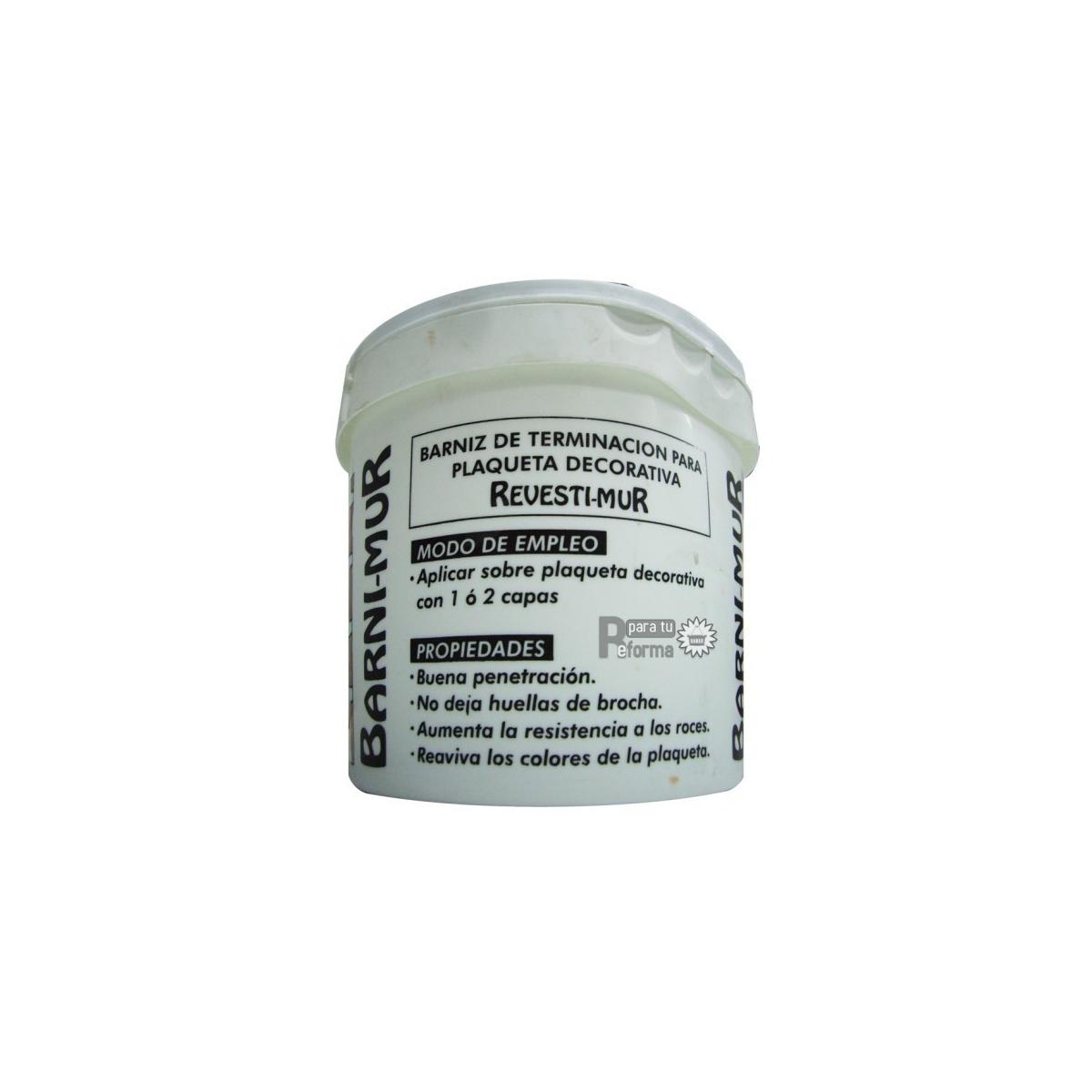 Barniz de protección en 4 litros - Revestimiento con Plaquetas de yeso - Marca 0