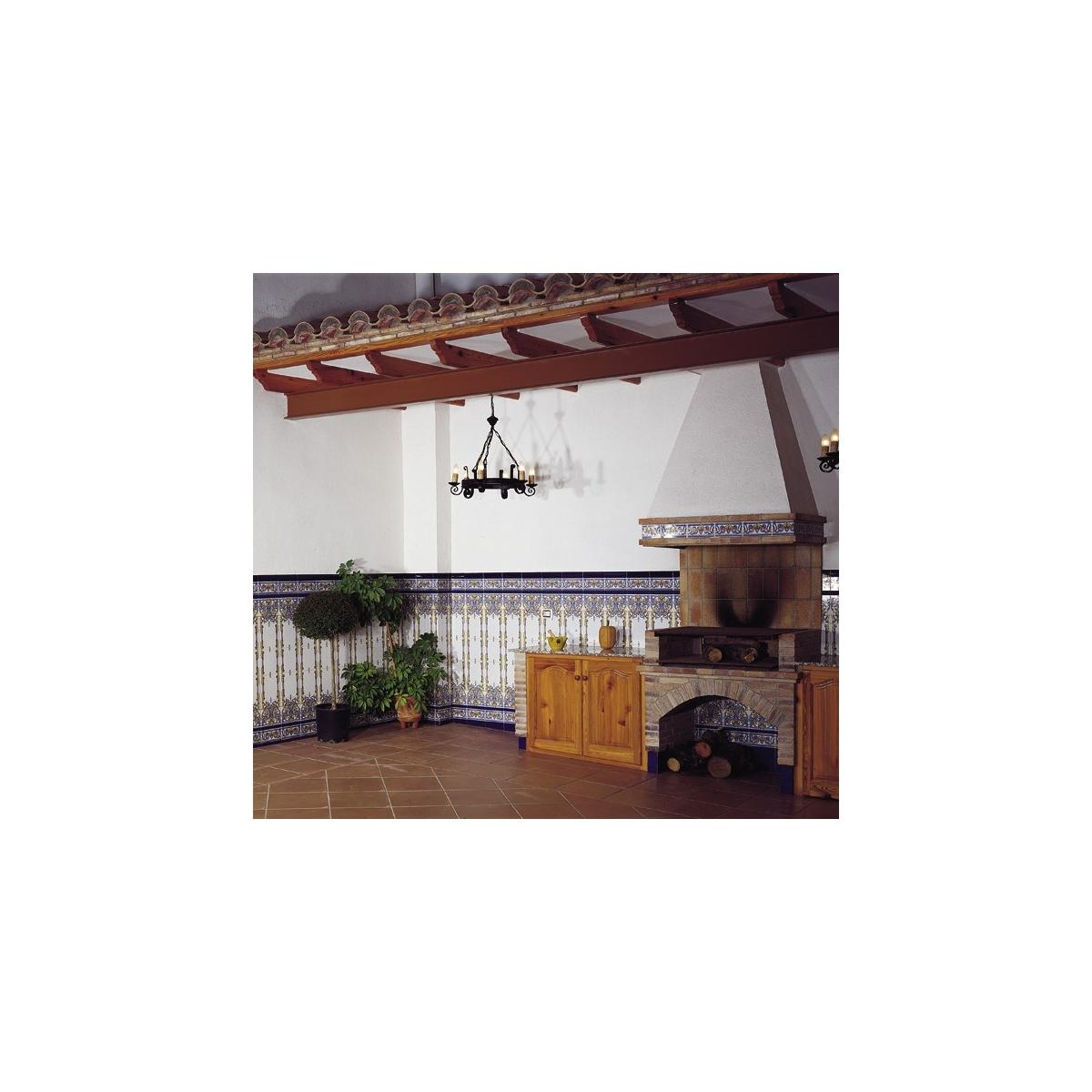 Moldura Cobalto Serie Alhambra Mainzu