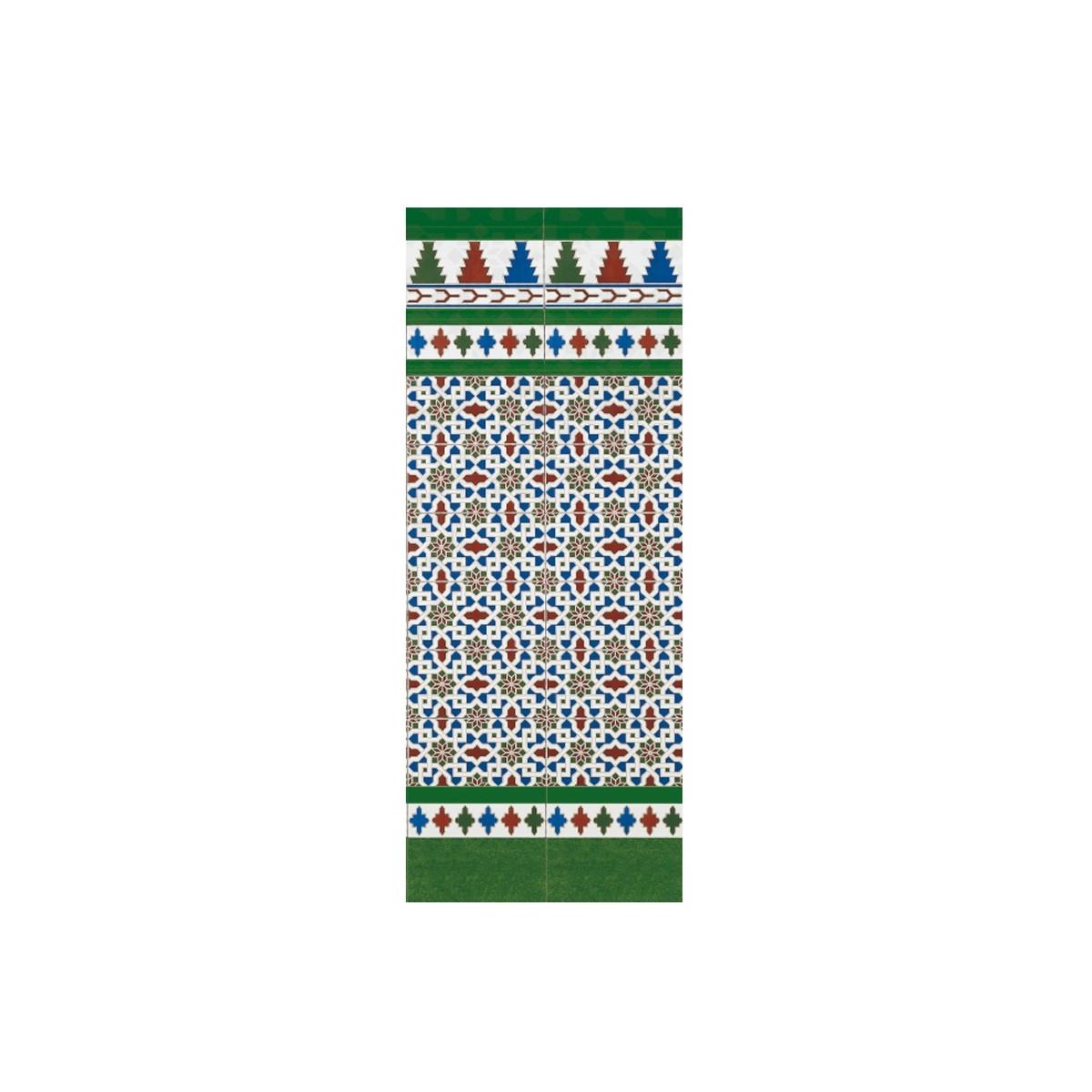 Tira Verde 3x28 (ud) - Serie Alhambra - Marca Mainzu