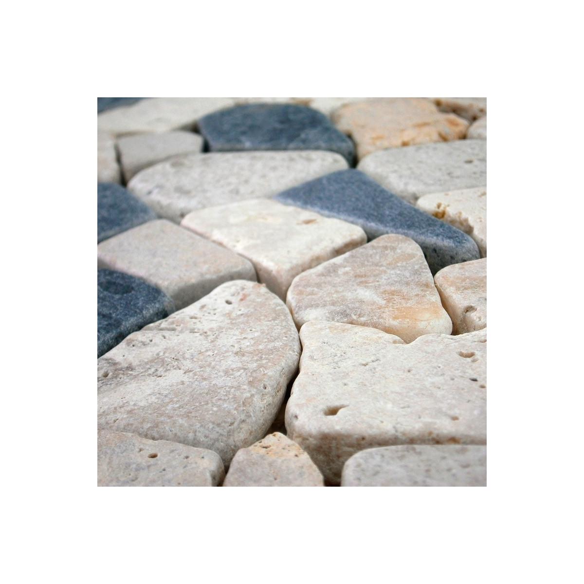 Biancone - Revestimiento con mosaicos - Marca Anjasora