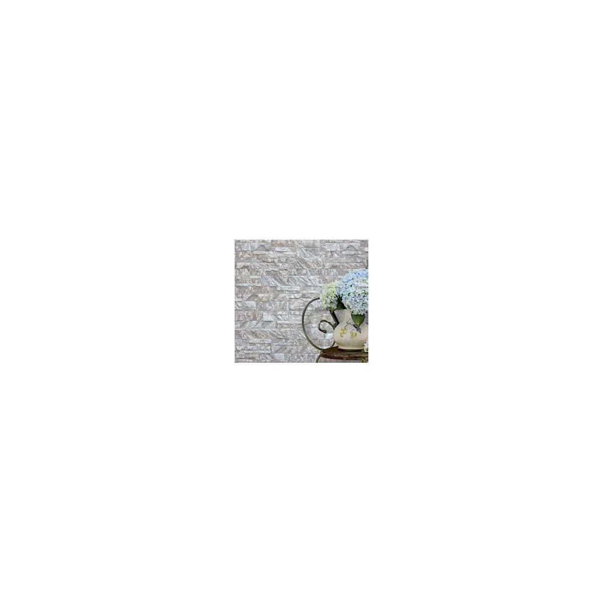 Revestimiento piedra Corinto Marfil (Caja de 0.75 m2) color marfil