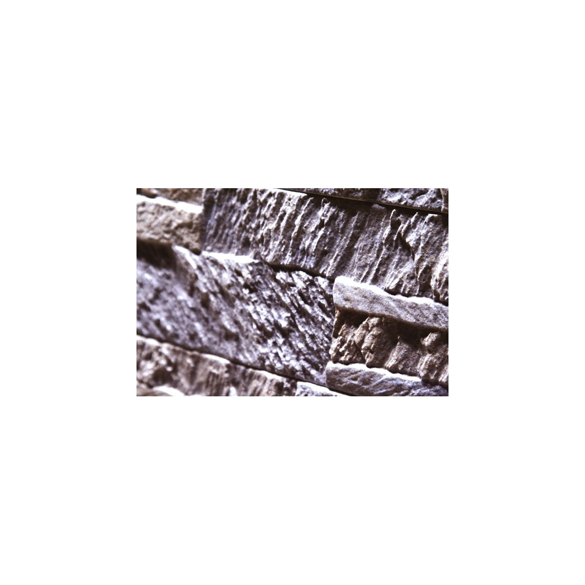 Revestimiento pared imitación piedra Corinto Gris (Caja de 0.75 m2) color gris