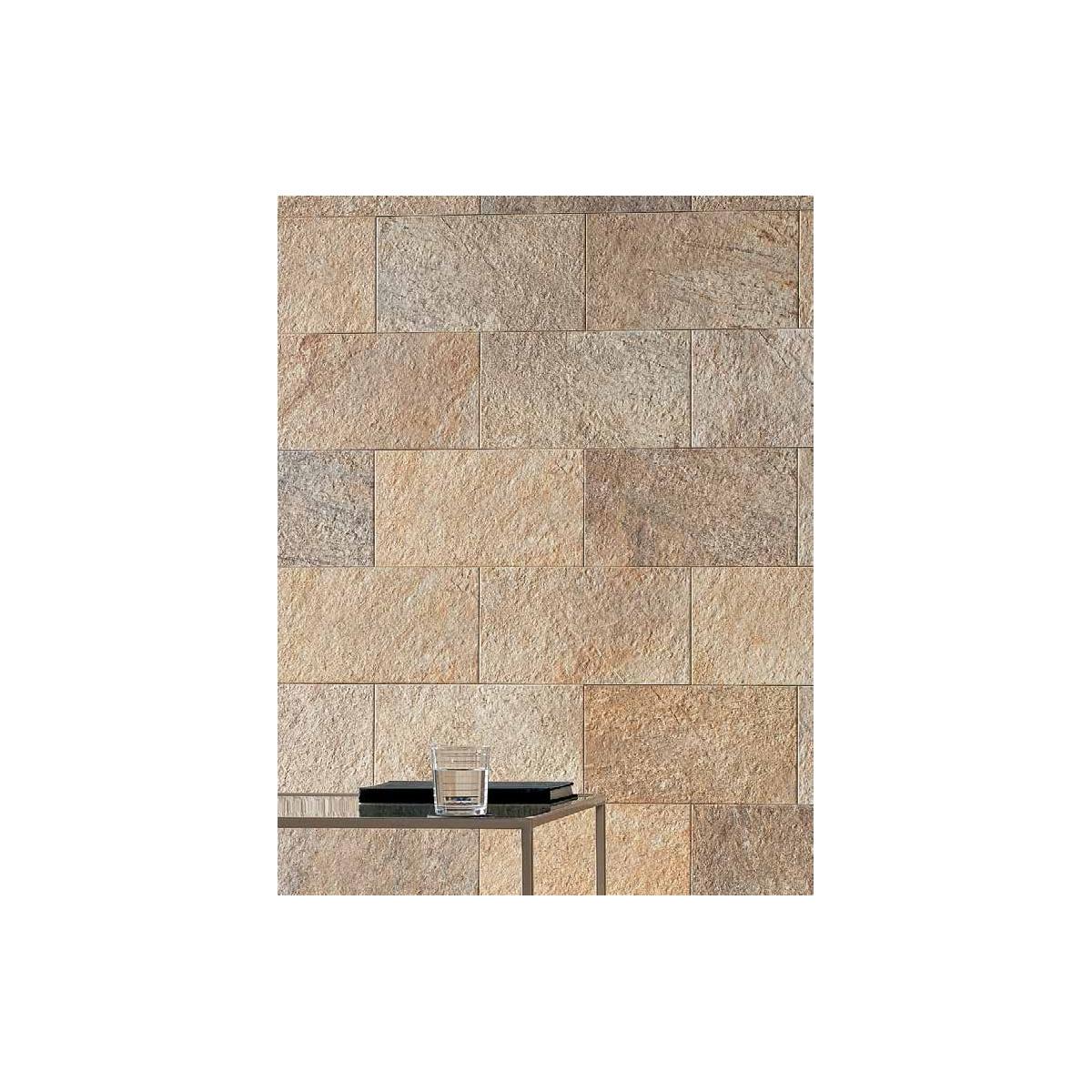 Revestimiento pared imitación a piedra Cuarzo África (Caja 0.97 m2) cuarzo áfrica