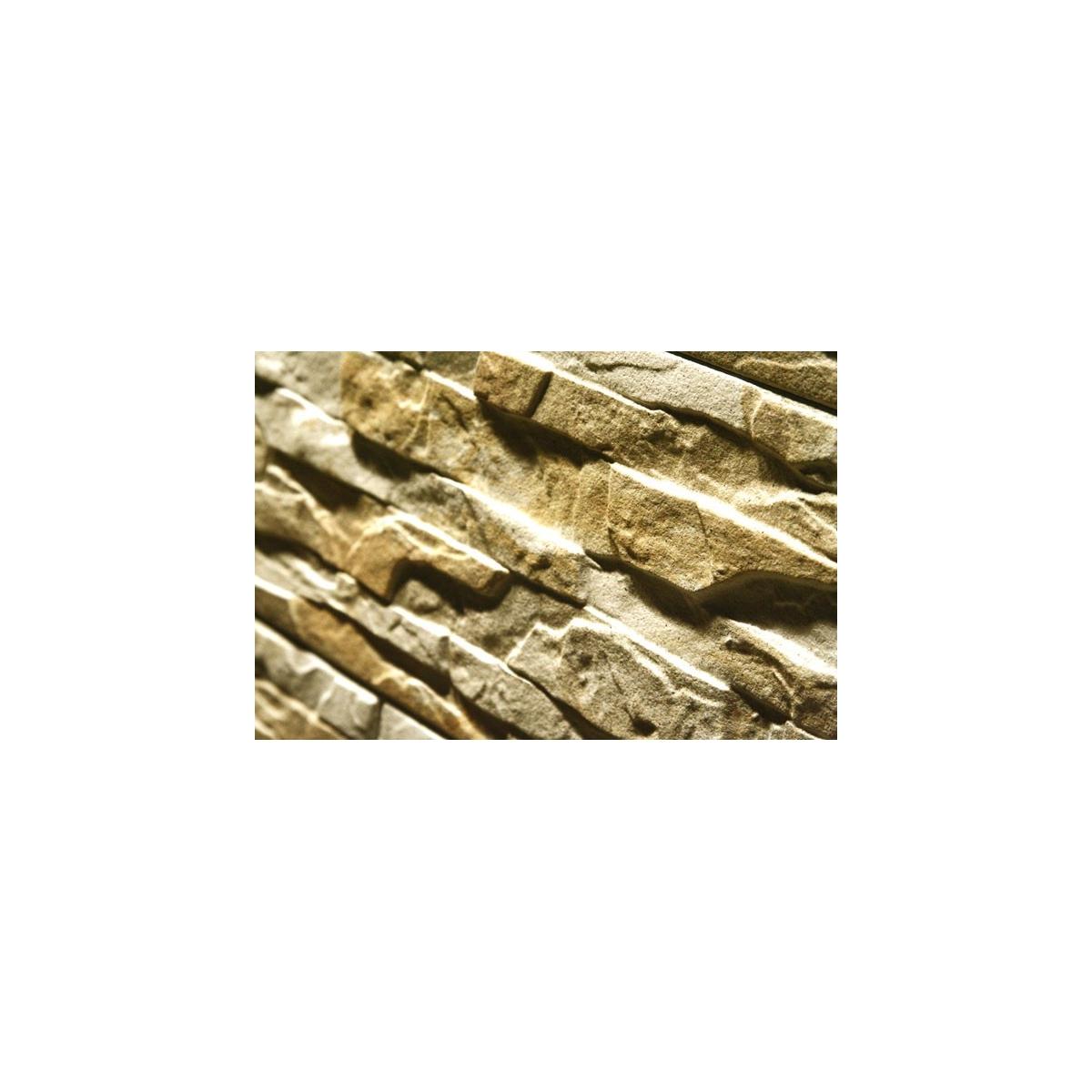 Revestimiento pared piedra Cronos Crema (m2) color crema
