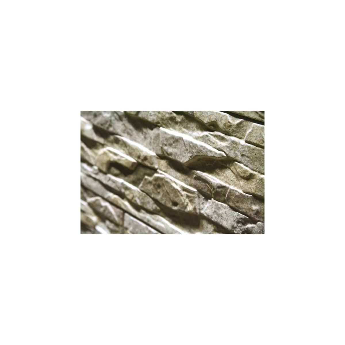 Revestimiento imitación a piedra Cronos Gris (m2) color gris