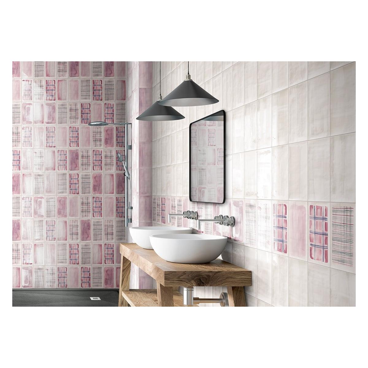 Revestimiento de interior Aquarel Rosa (m2) barato