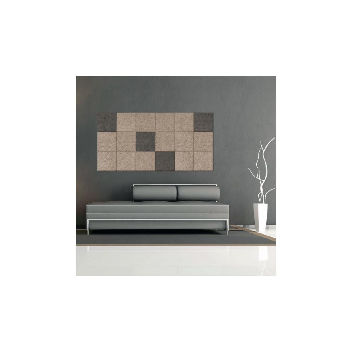Panel acústico para paredes color gris medio al mejor precio