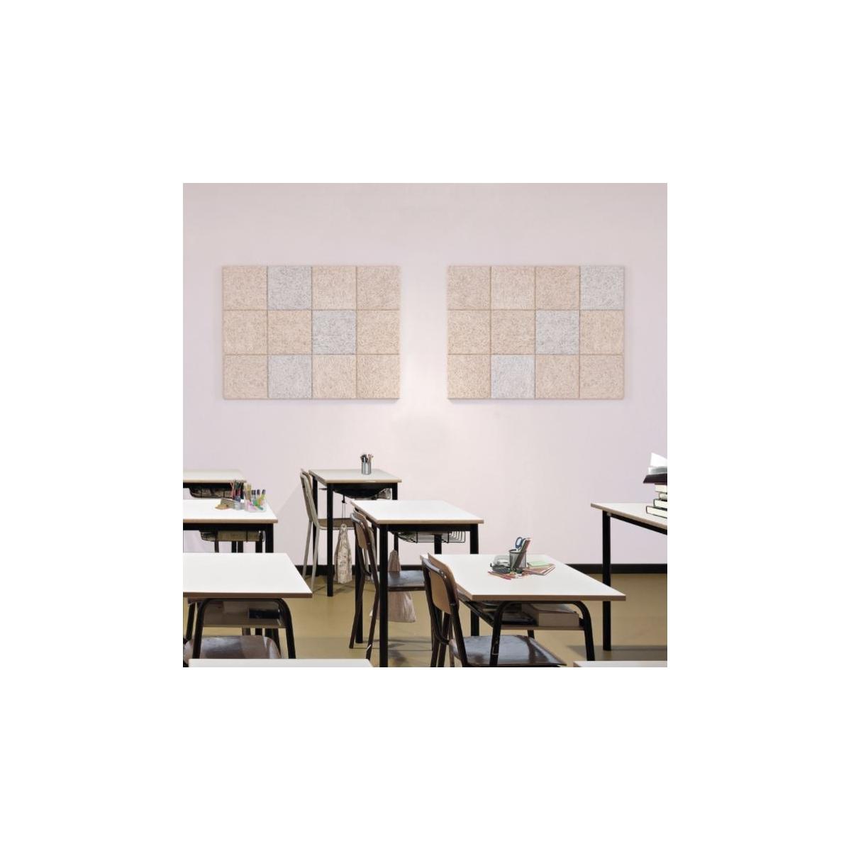 Panel sintético Legnomuro Grupo Unamacor Panel acústico para paredes color gris medio al mejor precio