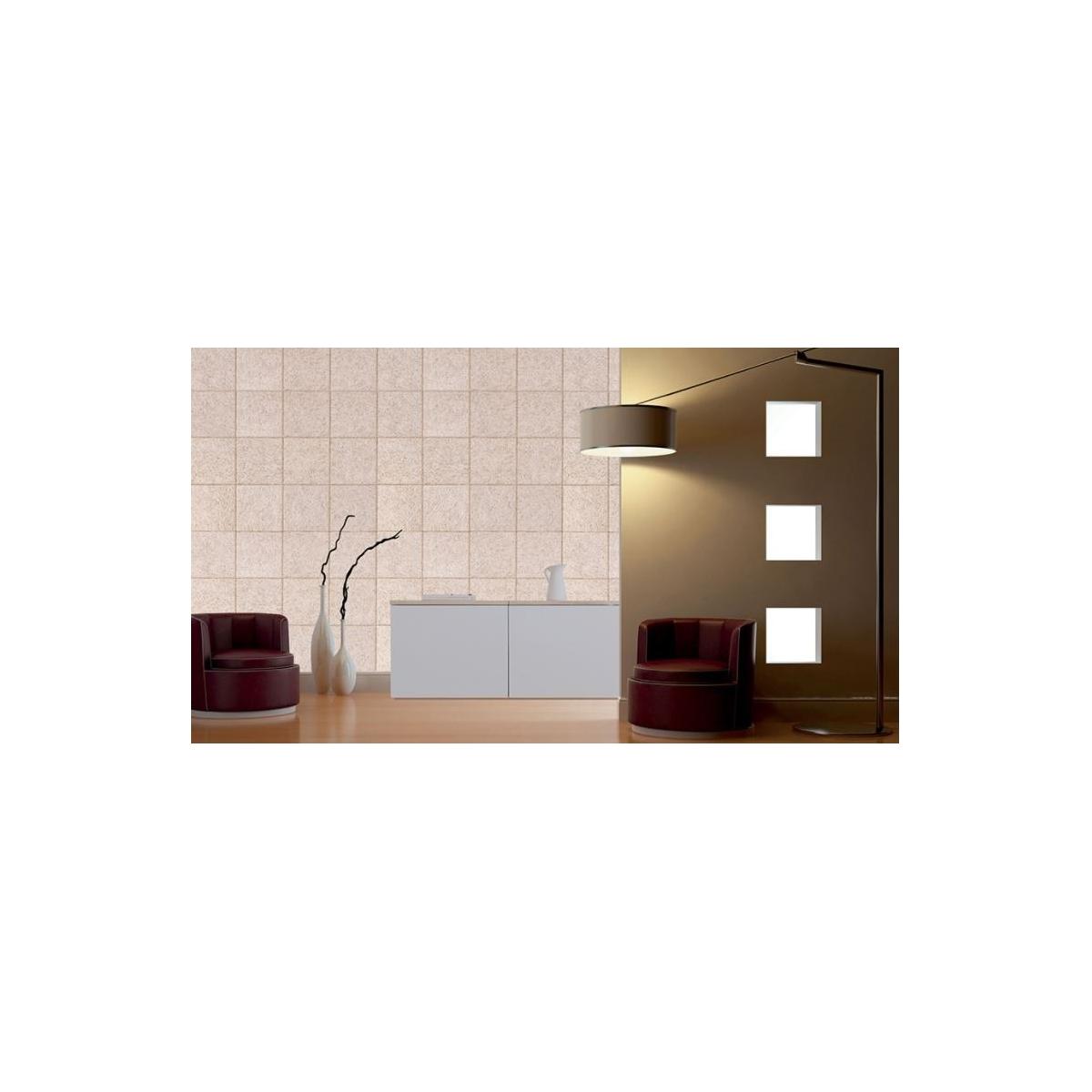 Grupo Unamacor Panel acústico para paredes color gris medio