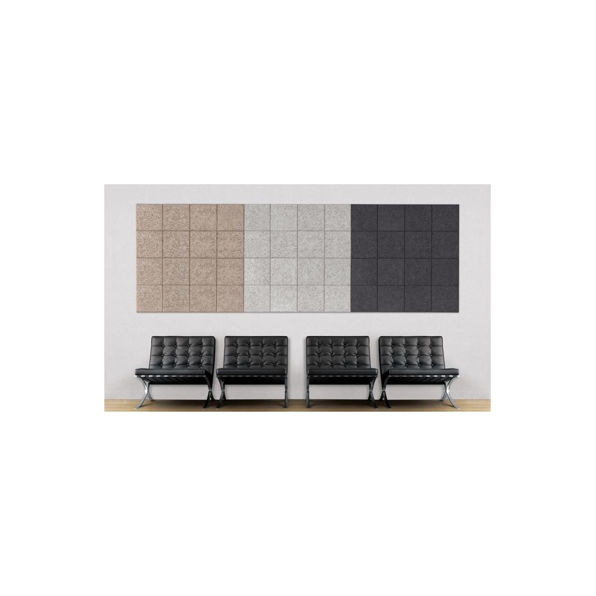 Panel acústico para paredes color gris medio muestras online