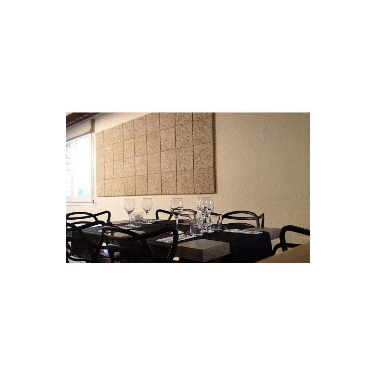 Comprar online Panel acústico para paredes color gris medio