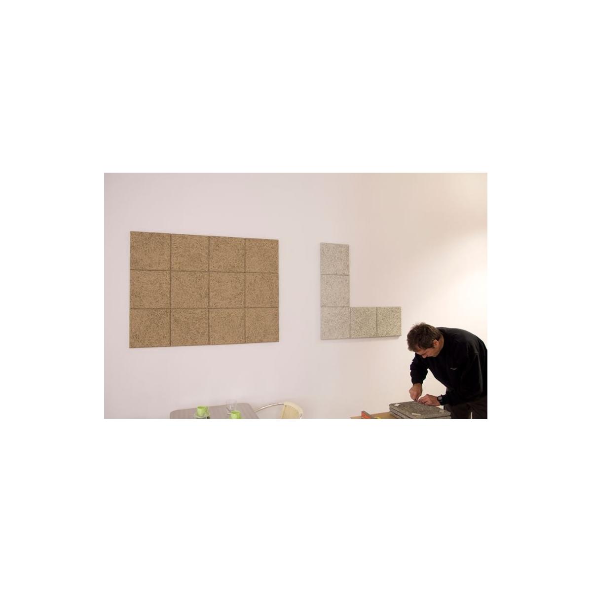 Comprar Panel acústico para paredes color gris medio online
