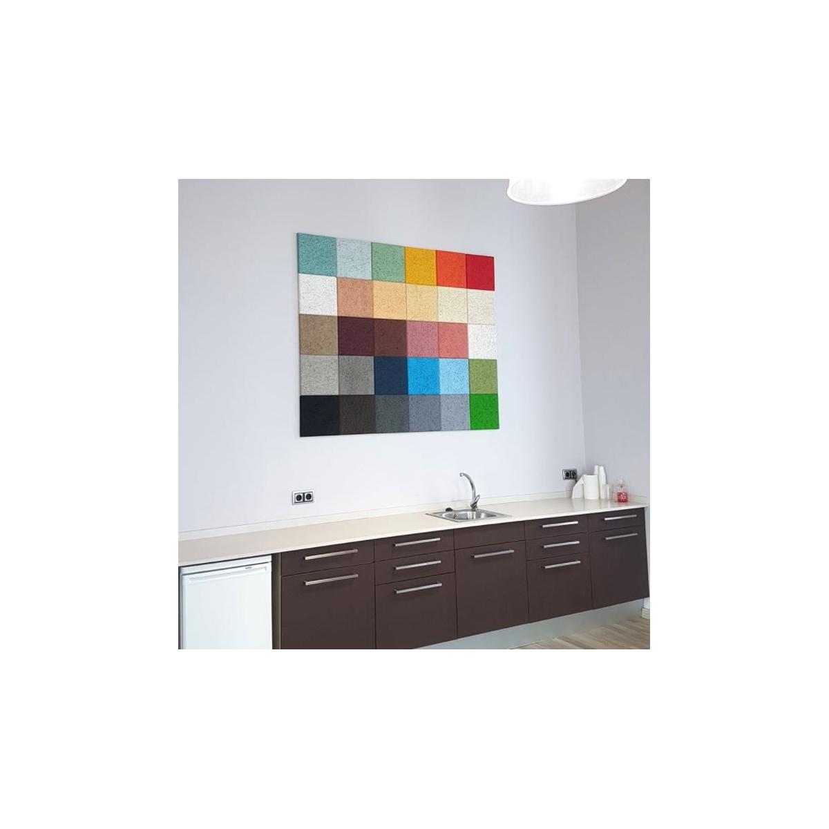Panel sintético Legnomuro Gris Medio 29x29 - El mejor aislante
