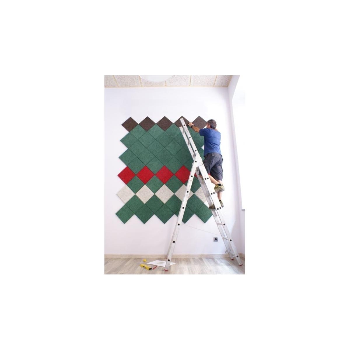 Comprar aislante Panel acústico para paredes color gris medio al mejor precio