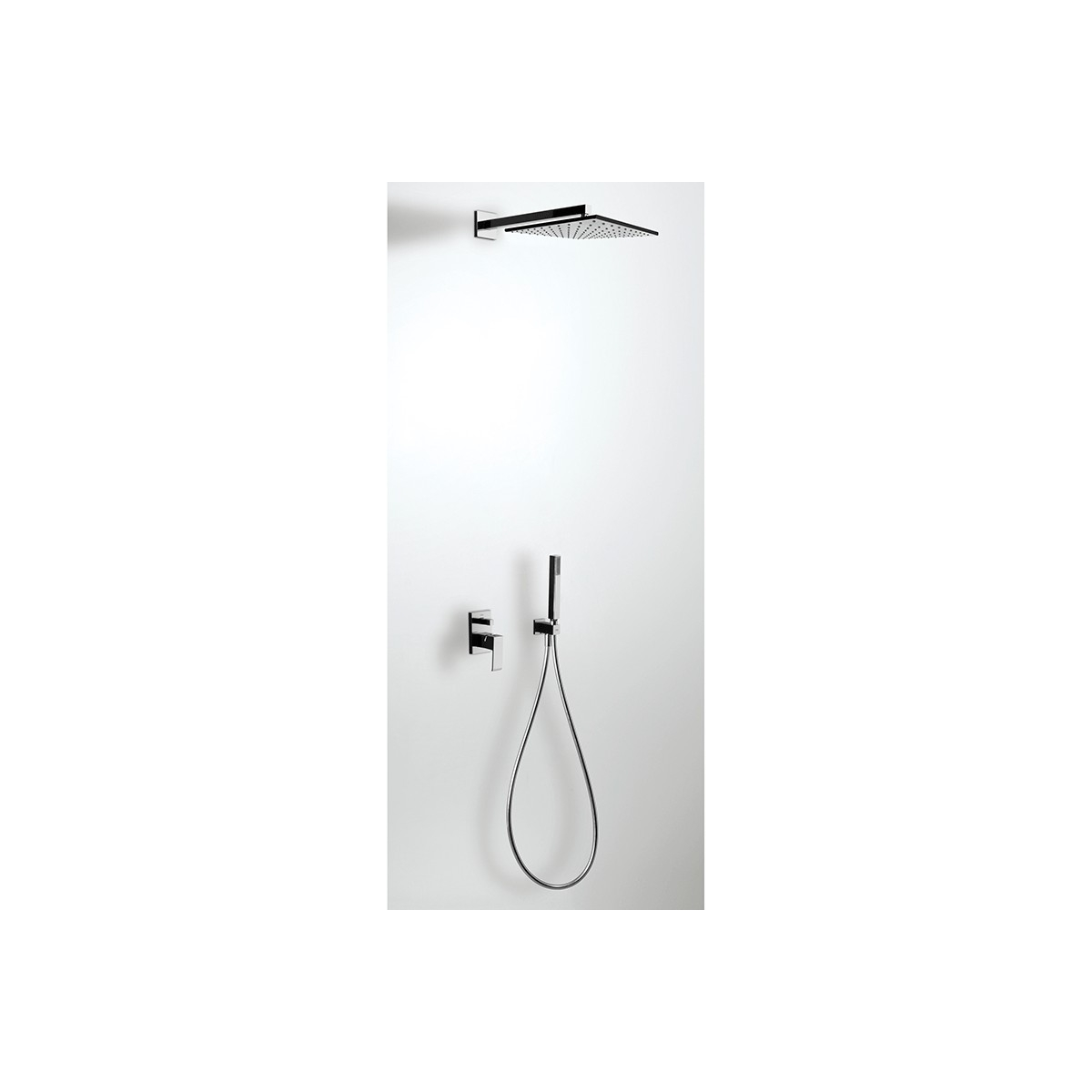 Conjunto de ducha monomando empotrado Cuadro Exclusive