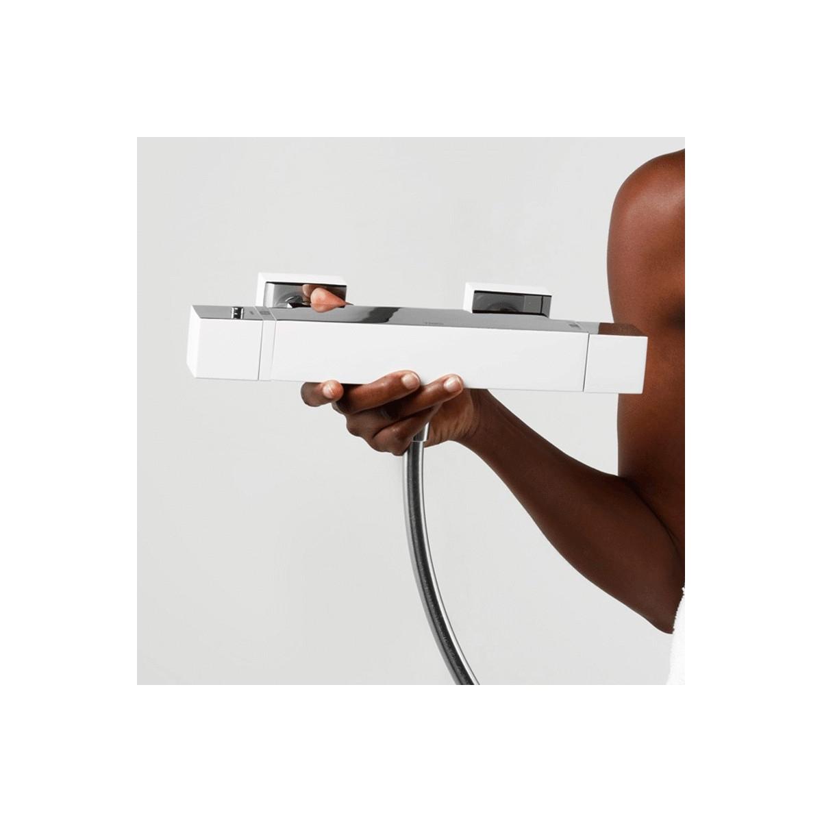 Grifo Bañera-Ducha termostática cascada Cuadro Exclusive Tres