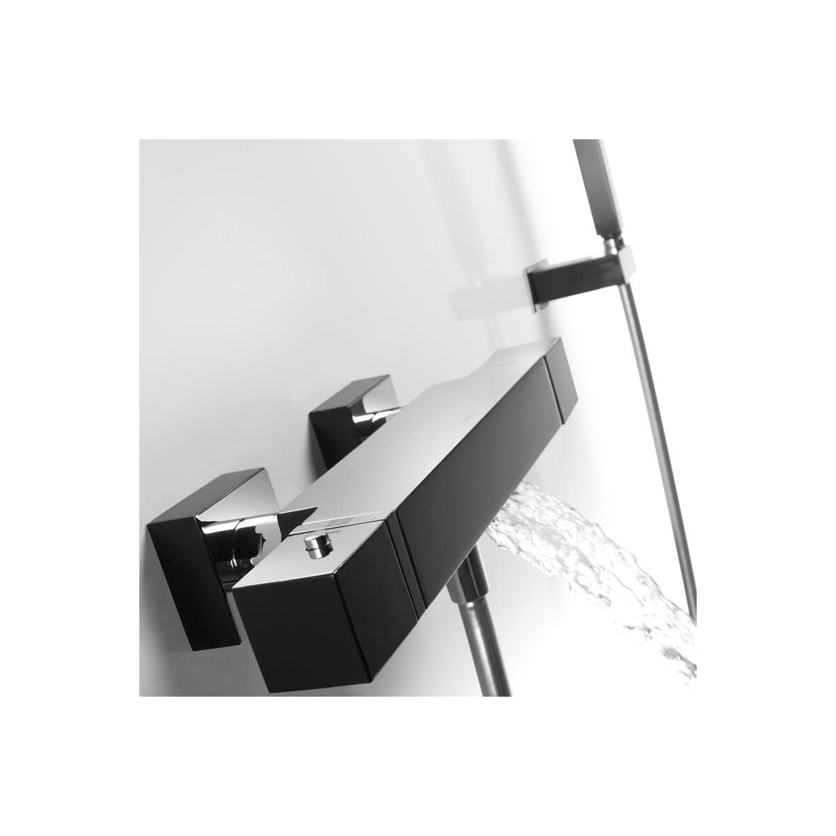 Grifo Bañera-Ducha termostática cascada Cuadro Exclusive Cuadro Exclusive