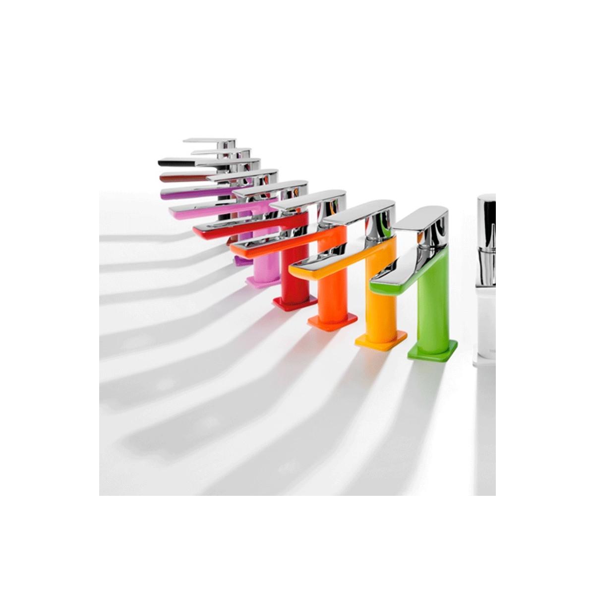 Monomando Lavabo con alargadera Loft Colors Tres