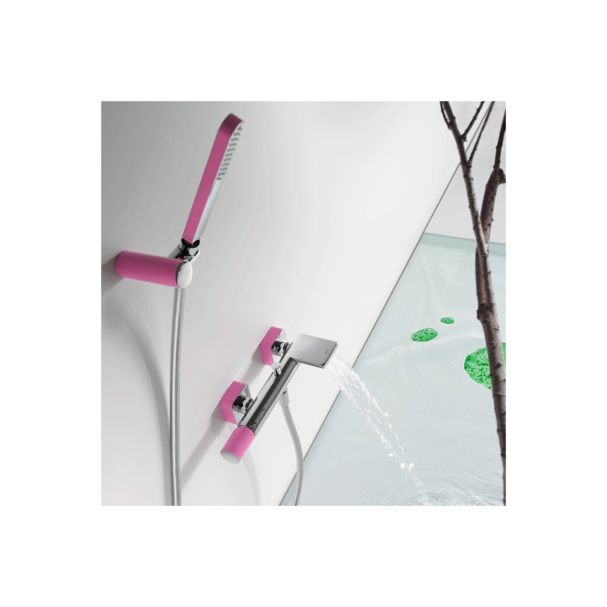 Monomando bañera-ducha Loft Colors