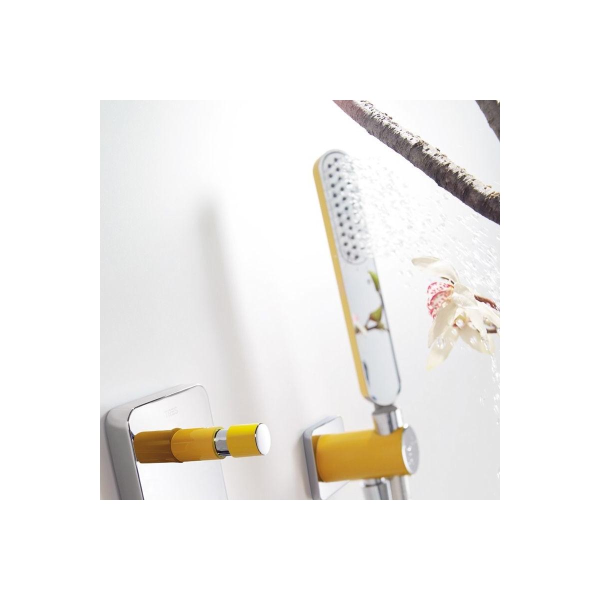 Conjunto de ducha empotrado termostático 2 vías loft colors