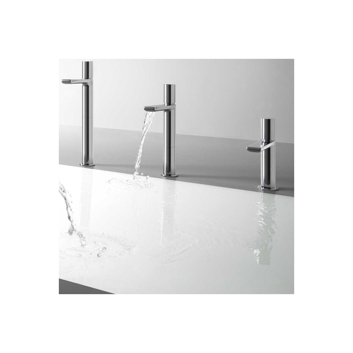 Tres Grifo caño cascada lavabo Max-Tres