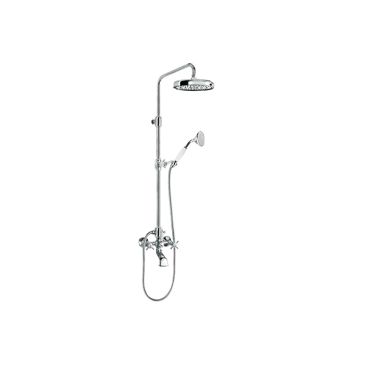 Conjunto bañera-ducha RETRO