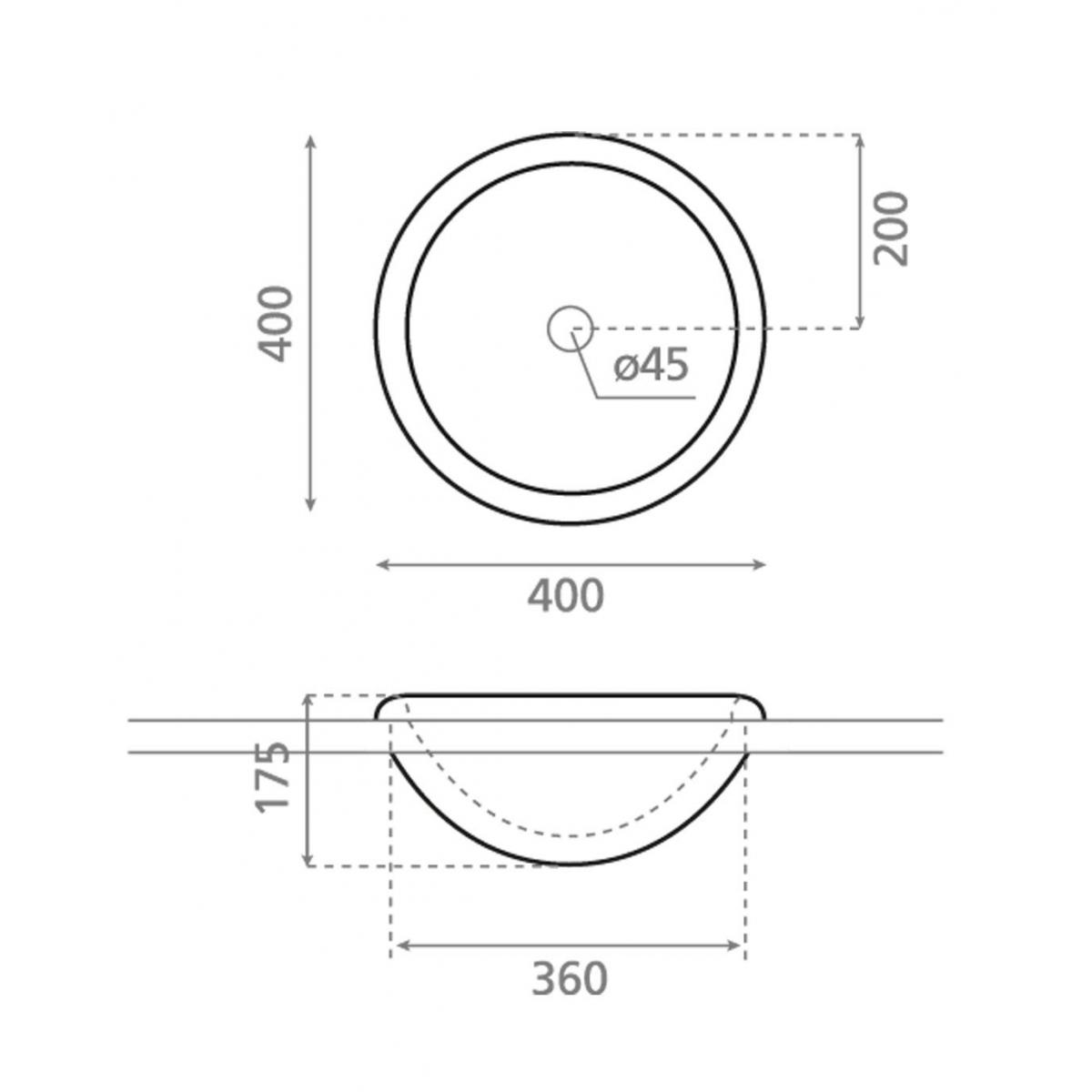 Lavabo Circular Laredo - Lavabos circulares - Marca The Bathco