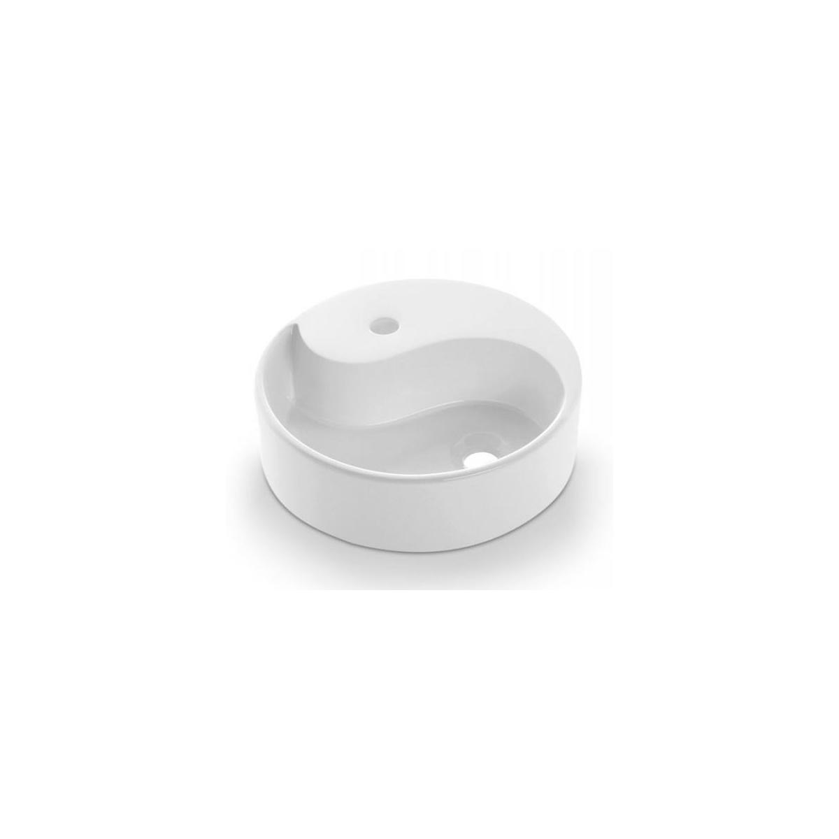 Lavabo Circular Yin Yang - Lavabos circulares - Marca The Bathco