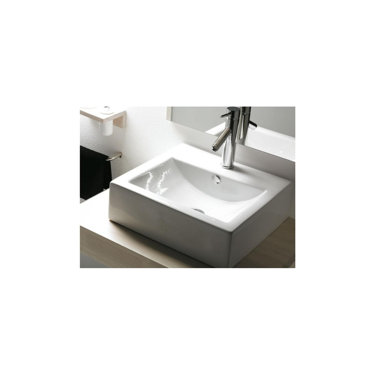 Lavabo Rectangular Bolonia The Bathco
