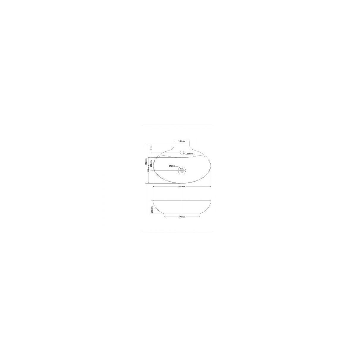 Lavabo Oval New Malaga - Lavabos ovales - Marca The Bathco