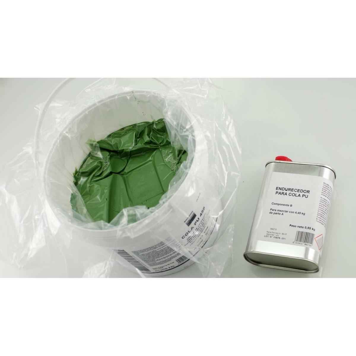 Cola de poliuretano bicomponente verde para césped artificial Naturf