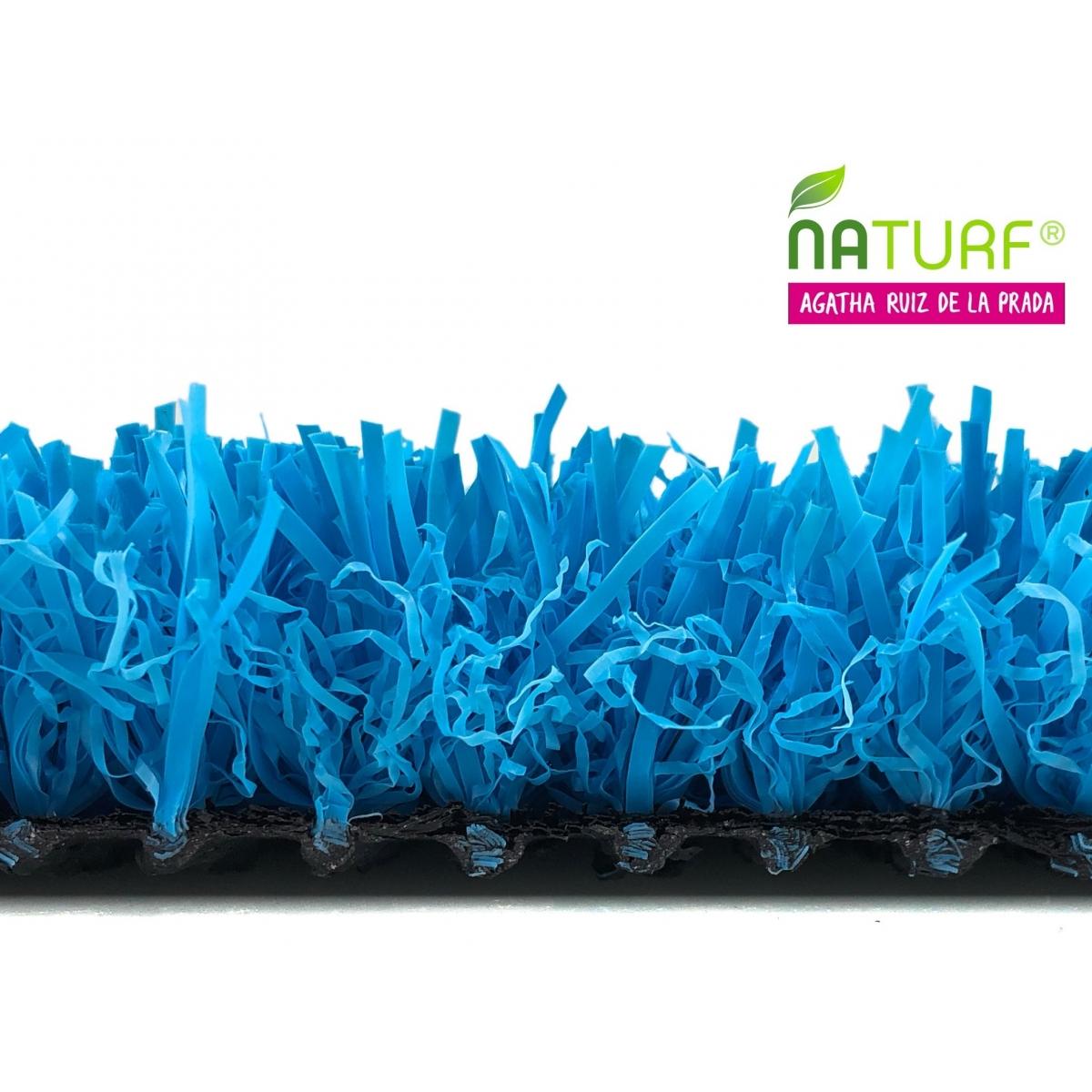Cesped artificial Azul Serie Agatha