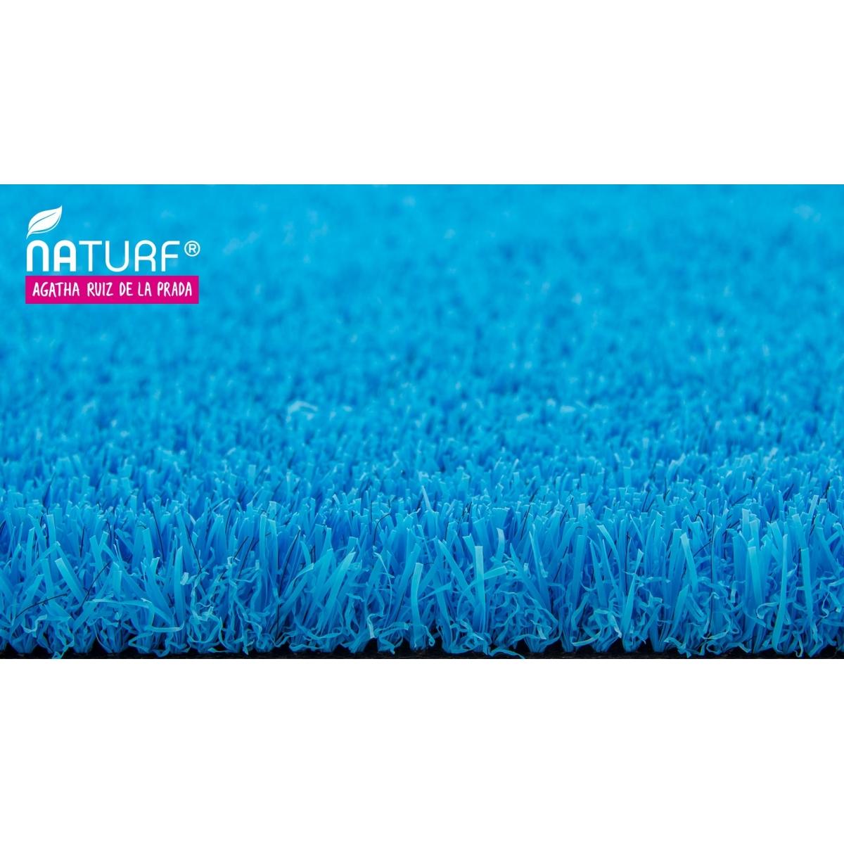 Cesped artificial Azul Serie Agatha Césped artificial