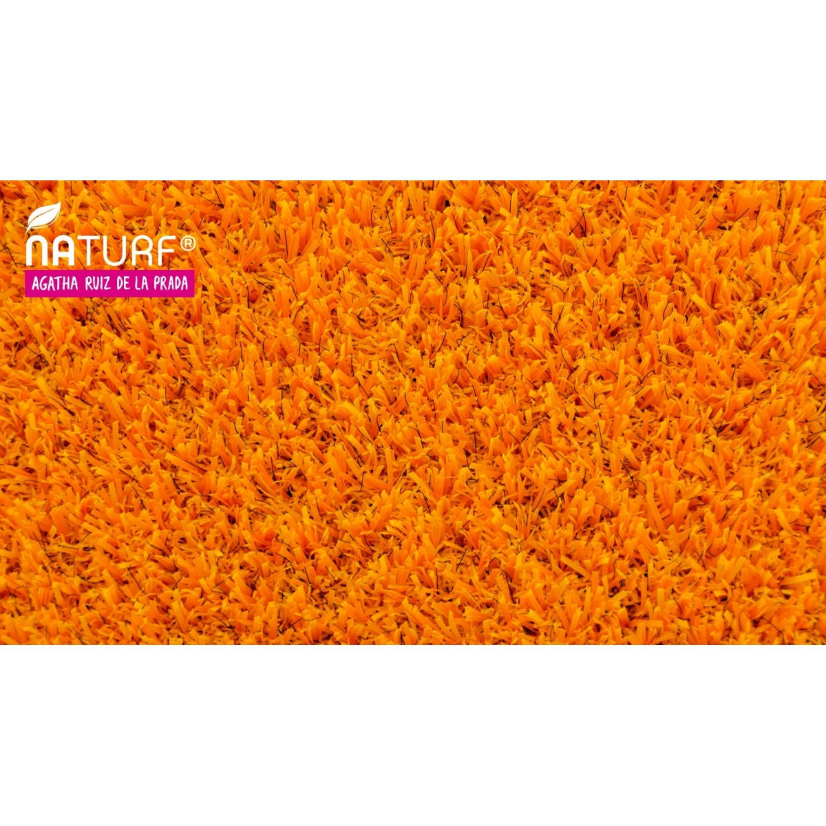 Cesped artificial Naranja Serie Agatha