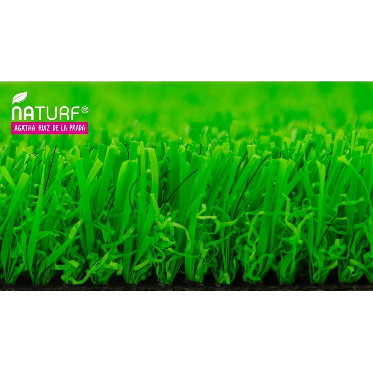 Naturf Cesped artificial Verde Serie Agatha