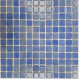 Gresite azul niebla antideslizante en malla (m2)