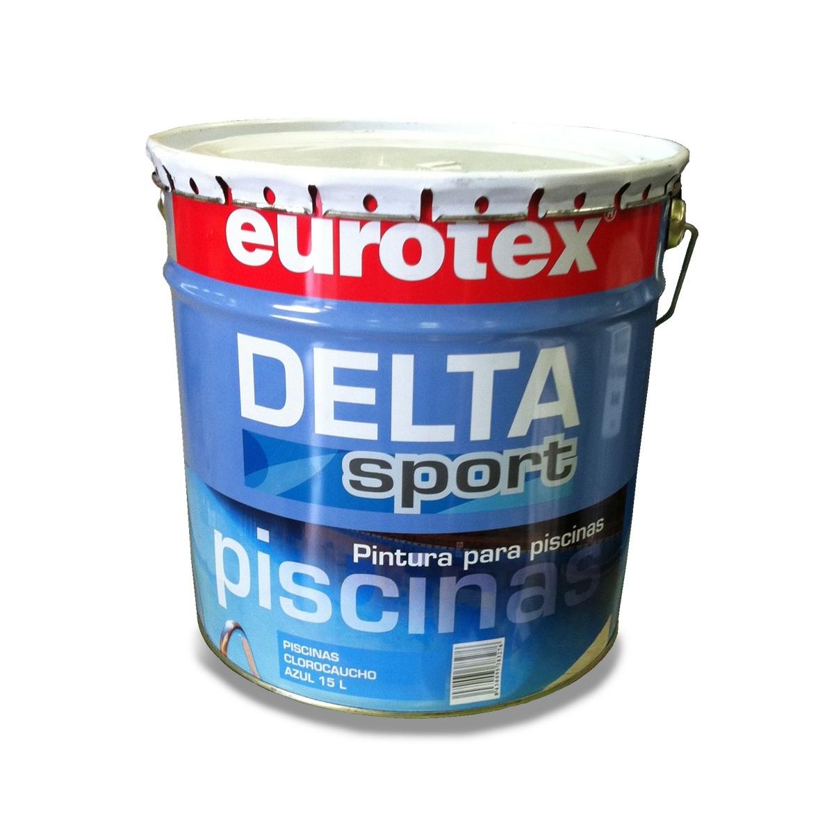 Pintura Clorocaucho Azul Delta Stand