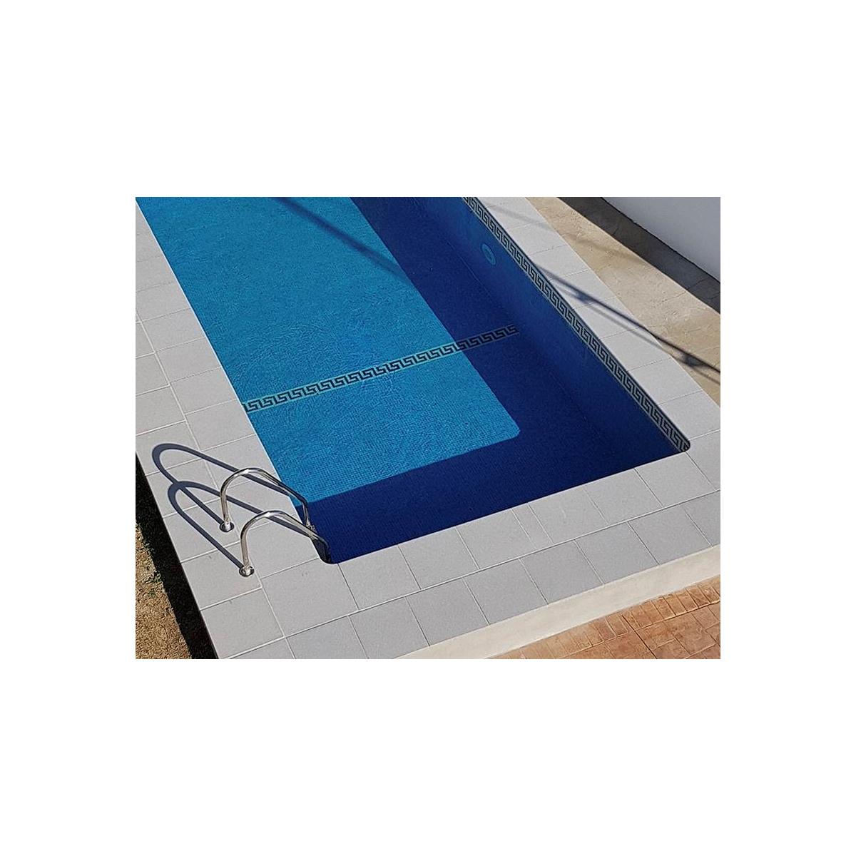 Borde de piscina recto Jerez 50x50 en chino lavado