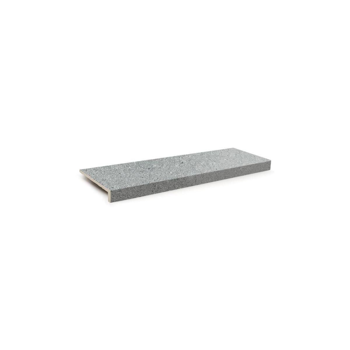 Borde de piscina en L Stromboli Silver 18x50x3,4