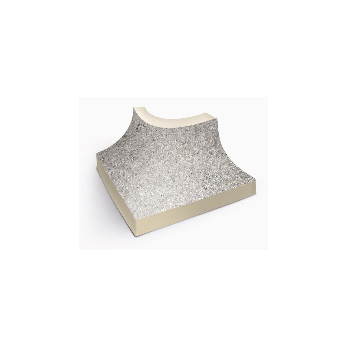 Esquinera interior Stromboli Silver de 6x6