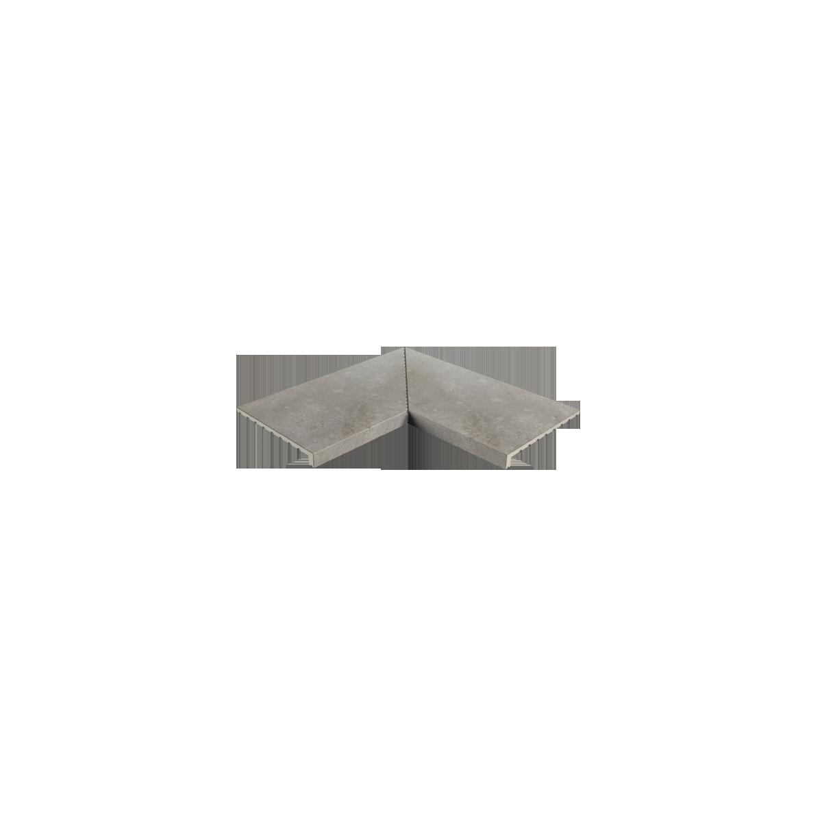 Esquina interior recta Mistery Grey E62 62,6x62,6x3,8