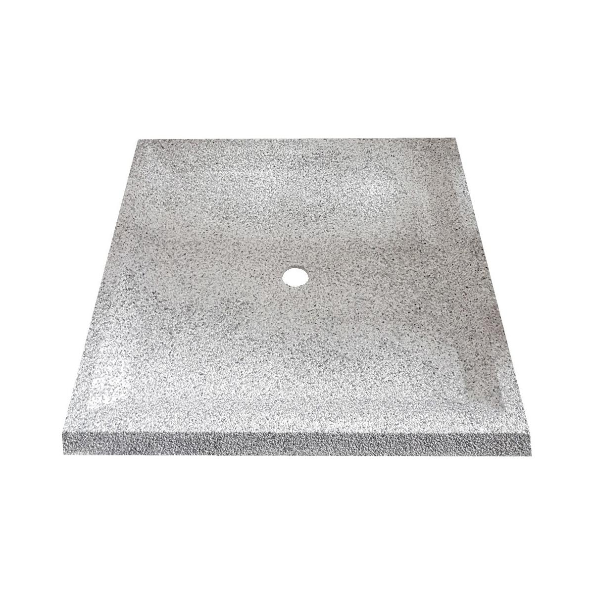 Plato de ducha para piscinas de 80x80