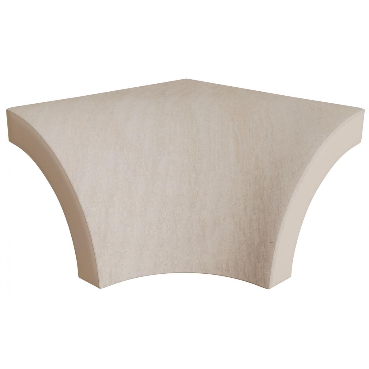 Rinconera exterior Stela White 4x4
