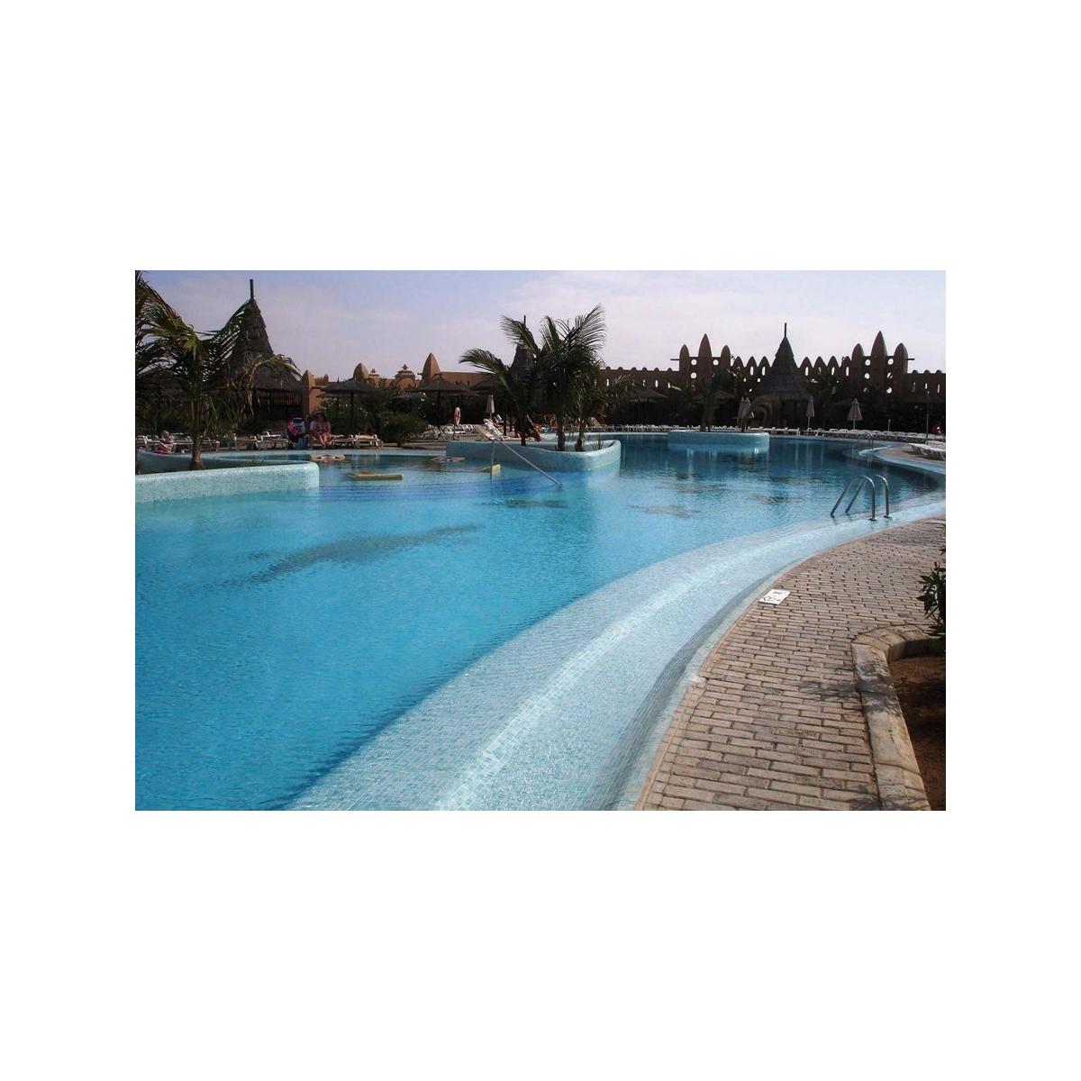 Gresite para piscina color Azul Celeste Claro Liso (m2) barato online - Platos de ducha de obra al mejor precio